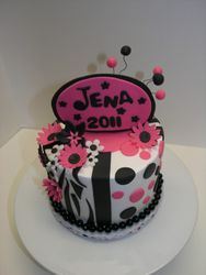 Zebra/Hot Pink