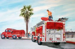 "Avila Beach ""Surfing"" Fire Department"