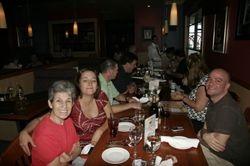 Family dinner in the hotel