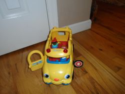 Fisher Price Little People Lil' Movers School Bus - $10