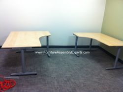 ikea galant desks installation service in clinton md