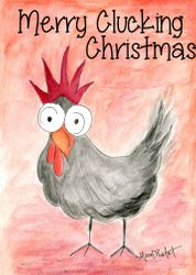 Merry Clucking Christmas