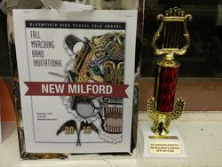 Marching Band Bloomfield Award