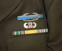 101st Abn. Div. Captain, England: