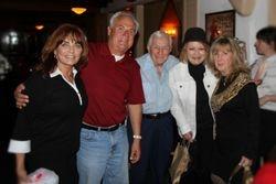 Dolly Martin, Me, Matt,Angie Dickinson, Pattie