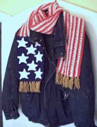 Patriotic Scarf - View 2