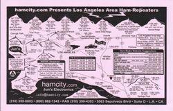 LA Area Ham Repeaters