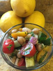 1 Serving 3 Bean Vegetable Salad