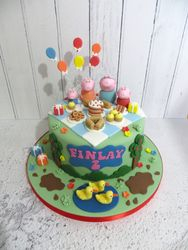 Finlay's 2nd Birthday Cake