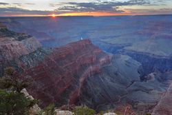 Sunset, Hopi Point