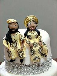 Gumpaste Bride and Groom