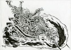 Ghost Rider OA Sketch