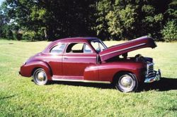 12. 46 Chevy 5 passenger Club Coupe