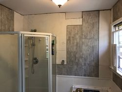 new wall tile system installation
