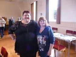 Klondyke Kate and Wendy Mellor