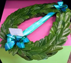 Large Laurel Wreath