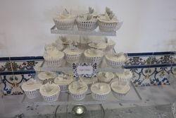 Silver & White Cupcakes