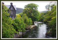 The River Conwy at Betws-y-Coed, Wales