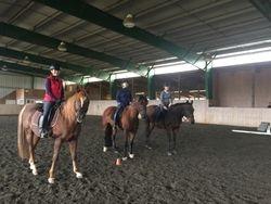 Quadrille Practice Kat/Tariq, Nancy/Merlin, Emma/Taylor