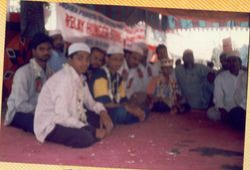 Hunger Strike at Indira Park
