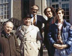 Jan Bialostocki, Sydney Freedberg, James Ackerman, Konrad Oberhuber, RB