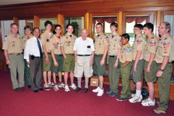 Honoring a great Scout!