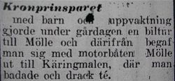 Prins Gustaf Adolf 4 augusti 1917