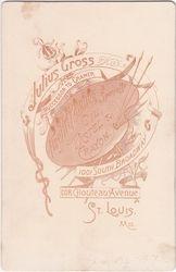 Julius Gross of St. Louis, MO - back