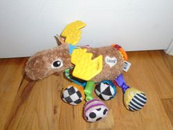 Lamaze Mortimer The Moose, Clip On Toy - $10