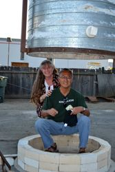 Marsha Judd and Patrick Crabb