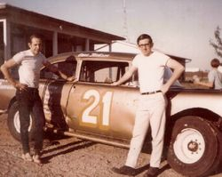 Mike Quinn and Gene Jackson in the early 70's