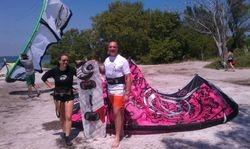 Yvonne, Ned - Kiss The Sky Kiteboarding kitesurfing