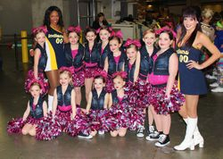 Jr. Cheer & Pom - Pacer's Game