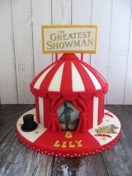 Greatest Showman Birthday Cake