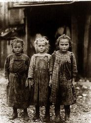 3 young oyster Shuckers