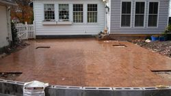 Sanding in the Pavers
