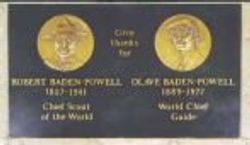 Memorial Stone to the Founder and the World Chief Guide, Westminster Abbey