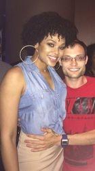 Damien Reinhardt attend the R&B LIVE Presents Demetria McKinney - Movie Grill