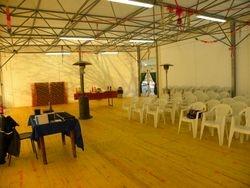 La sala prima della presentazione.....