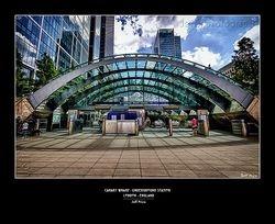 Canary Wharf - Underground Station London - England