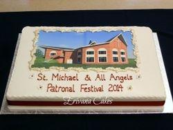 Patronal festival cake