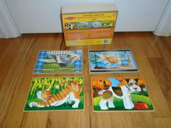 Melissa & Doug Wooden Jigsaw Puzzles in a Box - Pets - $7
