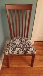 restored chair