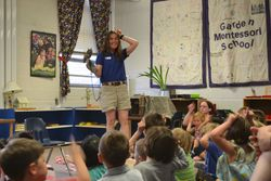 Naturalist from Ham. Co, Parks visit