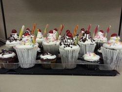 Soft Serve Cupcakes