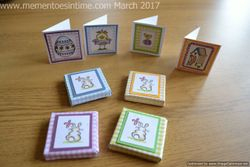 Mini Easter Egg Boxes and Cards