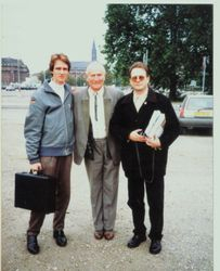 Colin, Heinz Ewald and his son