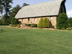 And this is the yard where we hold weddings