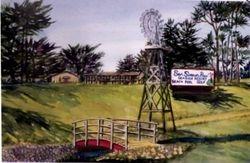 San Simeon Pines Windmill