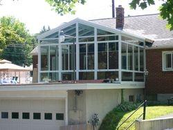 Glass roof sunroom 2